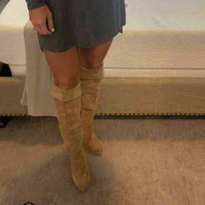 MK High Knee Boots
